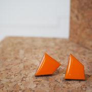 Puunappikorvakorut , oranssi